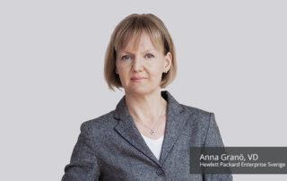 Anna Granö, Hewlett Packard Enterprise