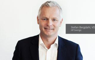 Stefan Bergdahl, VD HP Sverige