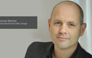 Thomas Weimer, Marknadschef Dell EMC Sverige